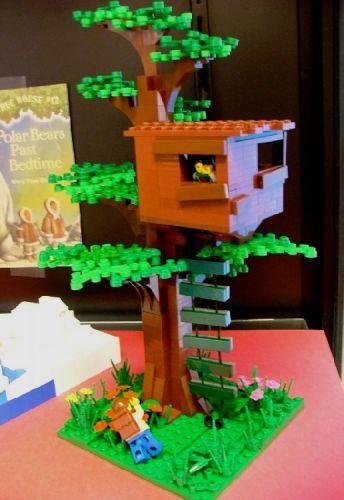 Dennis The Menace - Dennis' Treehouse   Treehouse, Lego and Lego house