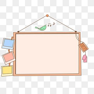 Hanging Wooden Decorative Hanging Board Prompt Card Indicator Bulletin Board Png Transparent Clipart Image And Psd File For Free Download Frame Border Design Frame Clipart Decorative Borders