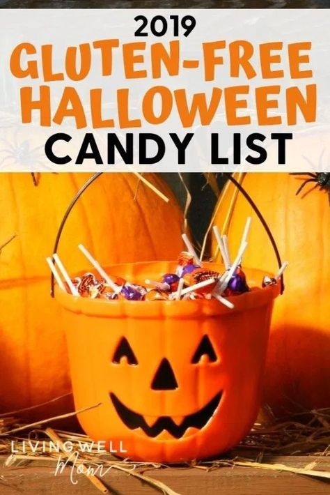 Gluten-Free Candy Halloween 2020 The BIG Gluten Free Candy List (Updated March 2020) (With images