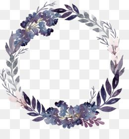 Wreath Lavender Flower Png Transparent Clipart Image And Psd File For Free Download Flowers Instagram Flower Png Images Flower Frame