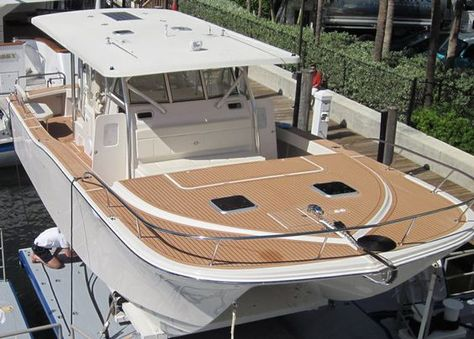 Waterproofing Wooden Boat Deck