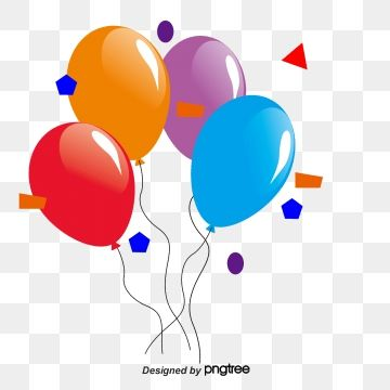 Colored Balloons Festival Balloons Colored Balloons Png