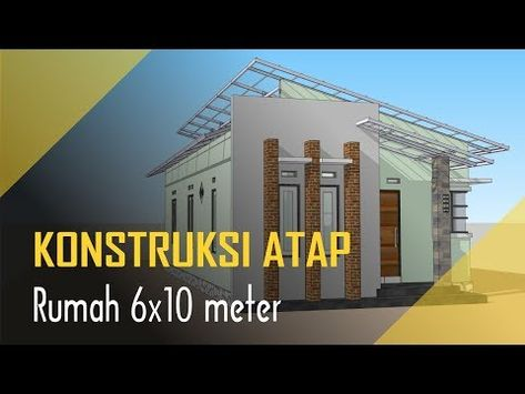 bikin rumah minimalis atap miring in 2020 (with images