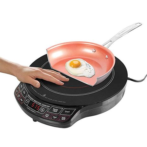 Nuwave Precision Induction Cooktop 1300 Watts Review Induction Cooktop Cooktop Induction