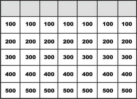 Pix For Jeopardy Powerpoint Template Oopstheme Com  Teaching