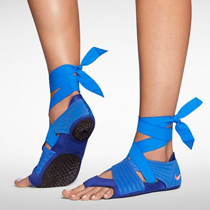 Yoga Gear You Need   Nike Studio Wrap Pack 2: A warrior pose needs warrior footgear, doesn't it? These work for yoga, dance, and barre workouts. They also rock a very yogi-meets-ballet-ninja flair. You'll get a barefoot feel in this training wrap, but with plenty of traction. Nike.com, $110.