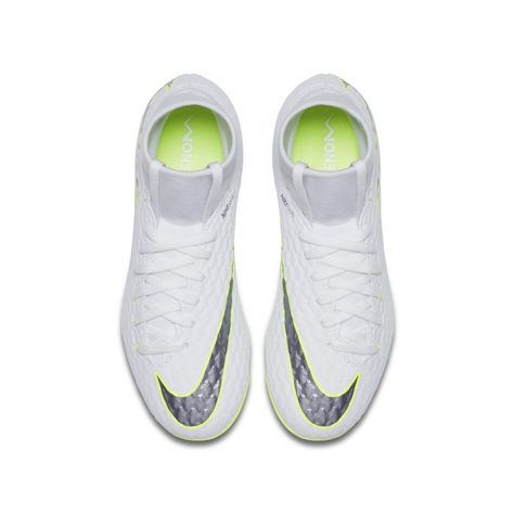 cba9e825a Nike Jr. Hypervenom Phantom III Academy Dynamic Fit Just Do It FG  Younger Older Kids Firm-Ground Football Boot - White