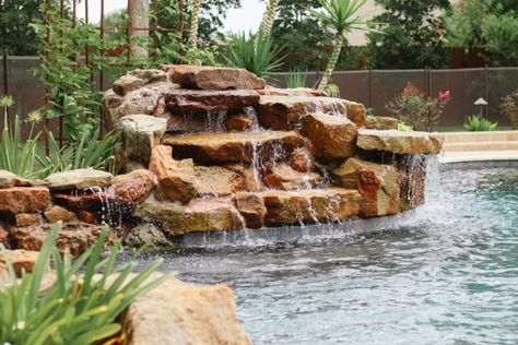 Adding A Water Feature To Your Pool