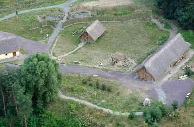 Foto Luftbild Der Anlage Landstrasse Luftbild Elberadweg