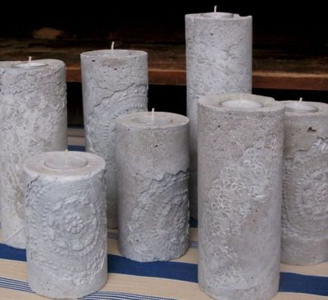 candle holders from goodideasforyou - click on photo, click on - Ideen Für Küchenrückwand
