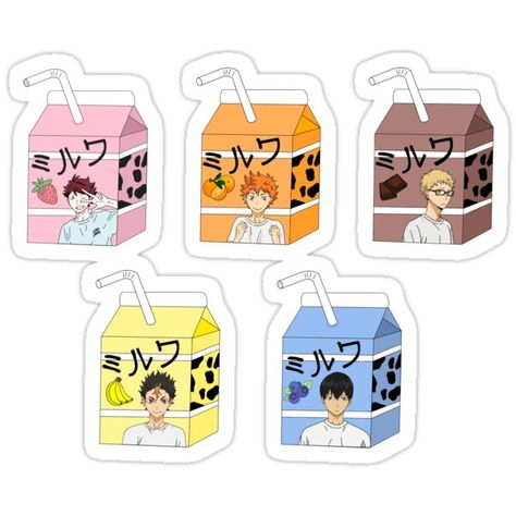 Decorate laptops, Hydro Flasks, cars and more with removable kiss-cut, vinyl decal stickers. Glossy, matte, and transparent options in various sizes. Super durable and water-resistant. Small Haikyuu bricks! Homemade Stickers, Diy Stickers, Printable Stickers, Haikyuu Anime, Anime Chibi, Manga Anime, Anime Stickers, Kawaii Stickers, Fan Art Anime