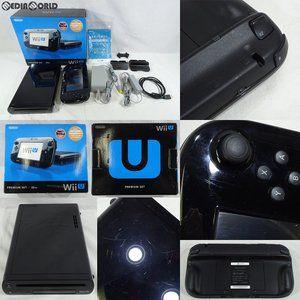 『中古即納』{訳あり}{本体}{WiiU}Wii U プレミアムセット 黒 PREMIUM SET kuro(本体メモリー32GB)(WUP-S-KAFC)(20121208) :75006739001:メディアワールドプラス - 通販