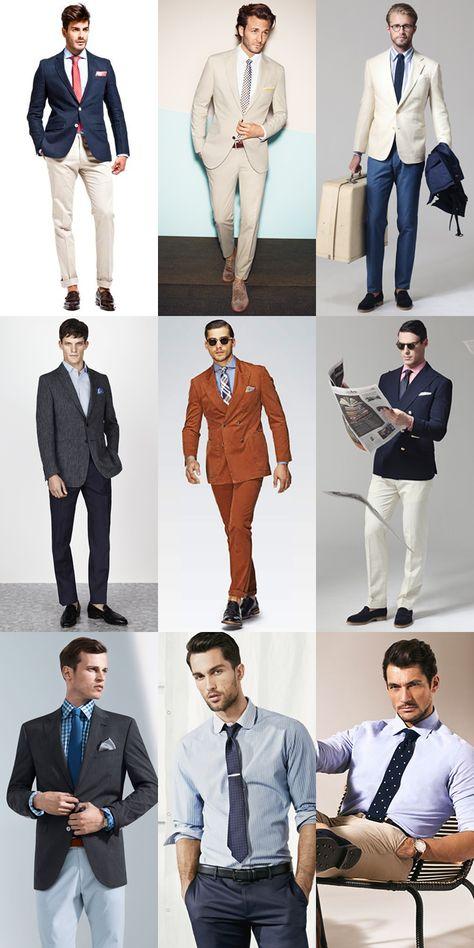 Spring Summer Office Wear Smart Dress Codes Lookbook Inspiration