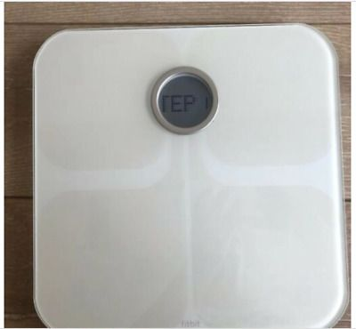 Fitbit Fb201w Aria Wi Fi Smart Scale White For 20 350lbs Tested Working In 2020 Smart Scale Smart Weight Scale Fitbit App