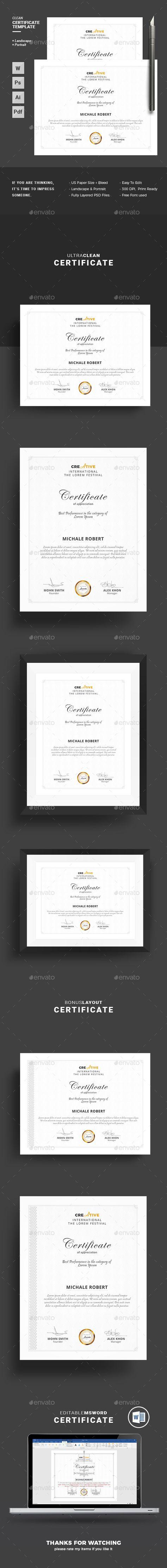 Best performance award certificate 04 | Pinterest