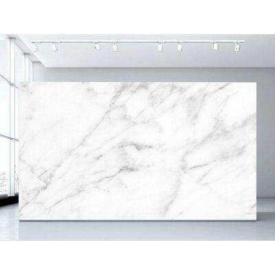 Olivia Poppy Carrara Marble Abstract