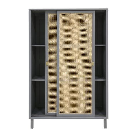 Woven Cane Cabinet Oh Whats This