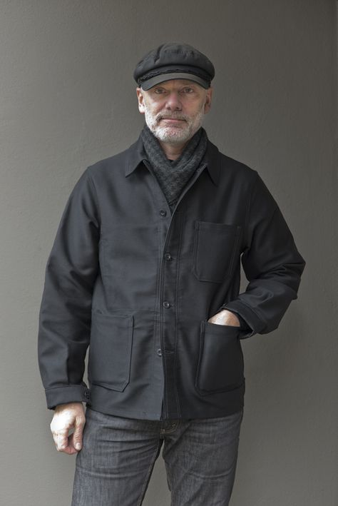 Join us on a day-time outing with Architect and Retail Designer Michael Kingery, for a glimpse of Le Laboureur work jackets on an urban adventure.