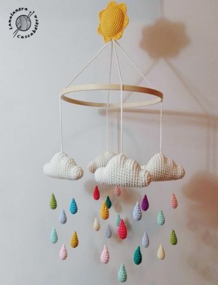 Knitting Baby Mobile 38 Ideas Knitting Baby Crochet Baby