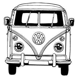 Tekeningen Van Volkswagen Busjes Cheetahtravel Vw Art