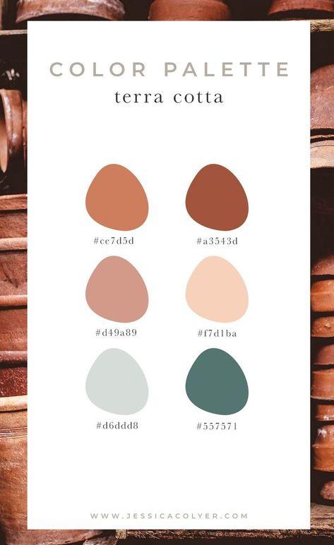 Earthy Color Palette, Colour Pallette, Color Combos, Bedroom Color Palettes, Warm Color Palettes, Rustic Color Palettes, Color Trends, Warm Bedroom Colors, Warm Colors