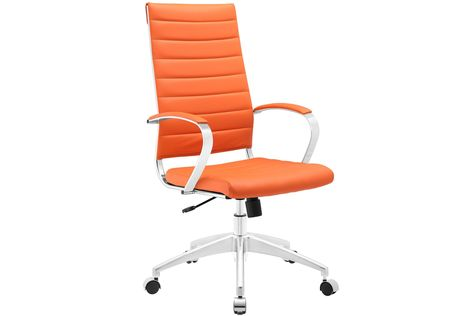 Jive Highback Office Chair In Orange By
