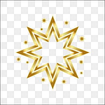 Golden Christmas Star With 8 Corners And Glitter Background Winter Christmas Snow Png Transparent Image And Clipart For Free Download In 2021 Glitter Background White Holiday Decorations Christmas Star