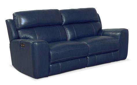 Living Room Furniture Newport 2 Piece Power Reclining Sofa