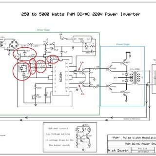 250 To 5000 Watts Pwm Dc Ac 220v Power Inverter Power Inverters Acdc Circuit Diagram
