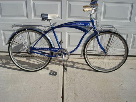 Schwinn Jaguar 1960   Schwinn vintage bikes   Bicycle