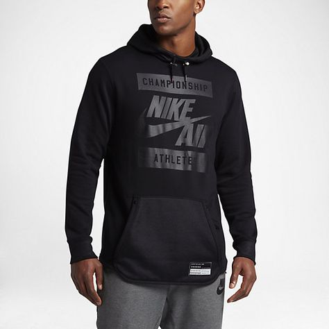 nike air championship athletes hoodie