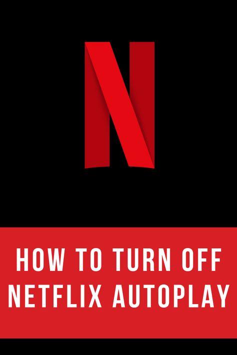 How to Turn Off Netflix Autoplay — Max Dalton Tutorials