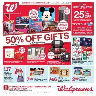 Walgreens After Christmas Sales 2020 Walgreens Black Friday 2020 Sale  Get Black Friday Deals | Black