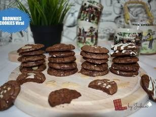 Resep Brownies Cookies Viral Oleh Mommy Nawla Jeehan Resep Brownie Cookies Kue Lebar Resep Makanan Penutup