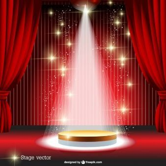Red Curtain Spotlight Stage Vector Cutecurtainsideas Stage Curtains Red Curtains Simple Curtains