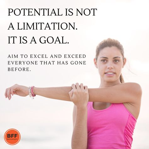 Potential is not a limitation. It's a GOAL. . . . #befinallyfit #bff #thursdaytip #thursdayvibes #thursdaythoughts #fitnesstip #fitquote #weightloss #weightlossjourney #loseweight #fitness #fitnessmotivation #weightlossforwomen #cleaneating #diet #eatclean #fitnessisawayoflife #fitspo #getfit #healthylifestyle #weightlosshelp #weightlossideas #weightlossinspiration #weightlossquotes #weightlosstips #howtoloseweight #howtolosefat #fitnessquotes #fitnesstransformation #weightlosstransformation