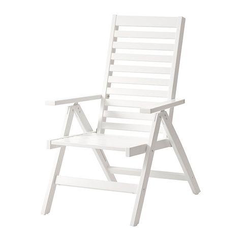Ikea Sedie X Giardino.Applaro Sedia Relax Da Giardino Marrone Pieghevole Mordente Marrone