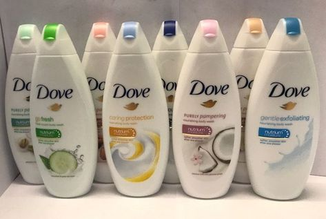 6 X Dove Body Wash / Shower Gel Nutrium Moisture Softer Skin 10 Types Body Shower, Shower Gel, Dove Body Wash, Black Skin Care, Victoria Secret Fragrances, Clear Skin Tips, Feminine Hygiene, Body Hacks, Skin Care Remedies