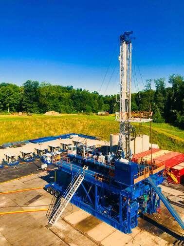 New Hp Dual Derrick Rig Oil Platform Oilfield Oil Rig