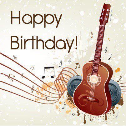Happy Birthday Guitar Player Happy Birthday Guitar