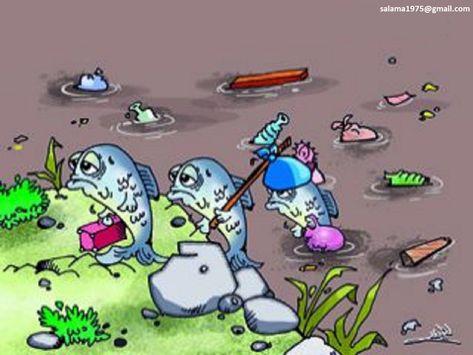مصادر تلوث البيئة البحرية الشواطئ والبحار Computer Lab Classroom Green Art Save Earth Posters