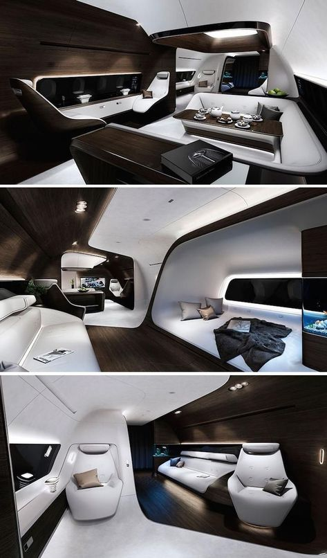 Mercedes and Lufthansa create ultimate luxury airplane Fly in style in this ultra sleek luxury airplane from Mercedes and Lufthansa.
