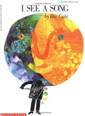 I See a Song - Eric Carle. Wordless book that goes beautifully with art lessons on abstract art. Wordless Book, Music Classroom, Music Teachers, Music Lesson Plans, Music For Kids, Children Music, Eric Carle, Teaching Music, Learning Piano