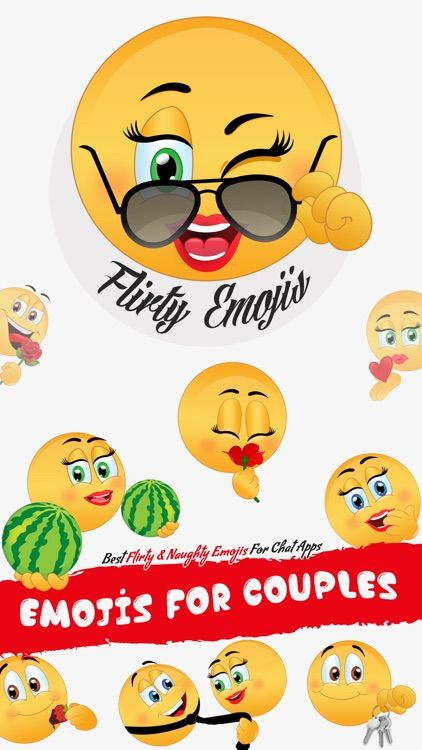 Flirty emoji messages