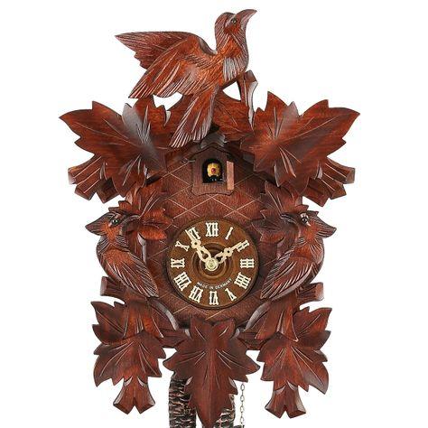 Full Size Alexander Taron 402QM Engstler Battery-operated Cuckoo Clock