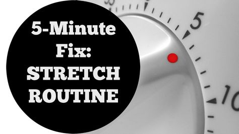 5 Min Fix: Total Body Stretch Flexibility Workout For All Levels No Equipment Necessary