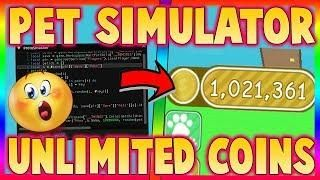 NEW] ROBLOX PET SIMULATOR UNLIMITED COINS | UNLIMITED XP
