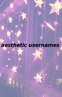 What Are Some Cute Aesthetic Usernames