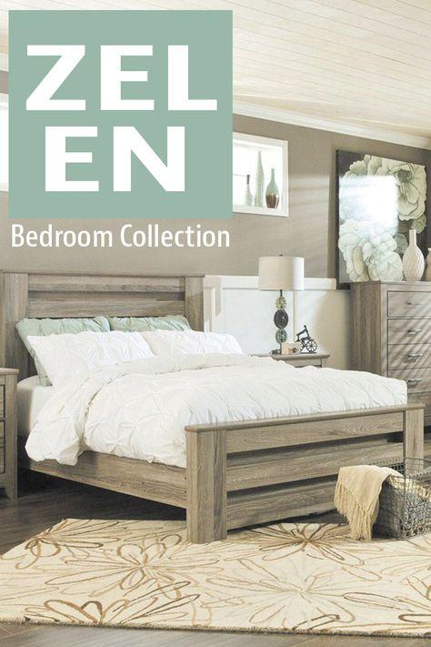 Zelen Queen Bed Paid Board 5 Piece Bedroom Set Bed Bedroom Furniture Sets