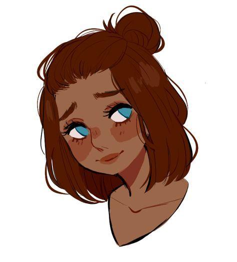 Best Drawing Hair Short Girl Character Design 52 Ideas In 2020 Character Design Girl Cool Drawings Cartoon Art
